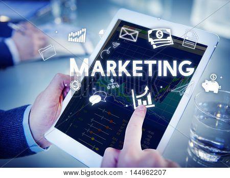 Marketing Business Avertising Commercial Branding Concept