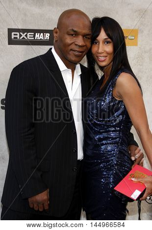 Mike Tyson at the 2010 Guys Choice Awards held at the Sony Pictures Studios in Culver City, USA on June 5, 2010.