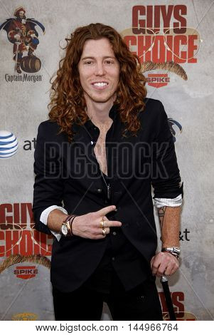 Shaun White at the 2010 Guys Choice Awards held at the Sony Pictures Studios in Culver City, USA on June 5, 2010.