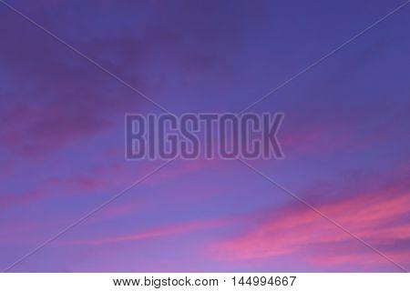 Sunrise and sunset sky background