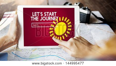 Adventure Journey Travel Explore Exploration Concept