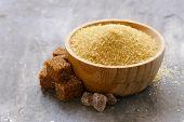brown cane sugar (refined sugar and granulated sugar) poster