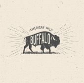 bison, buffalo, outdoor, america, stamp, western, vector, sign, symbol, traditional, premium, authentic, illustration, artwork, design, quality, banner, art, bull, vintage, style, background, wild, superior, sport, american, shirt, font, graphic, handmade poster