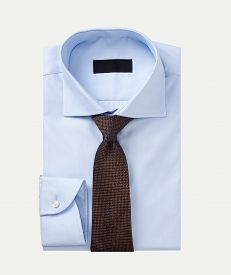 Men Shirt Clothing With Tie Isolated On White
