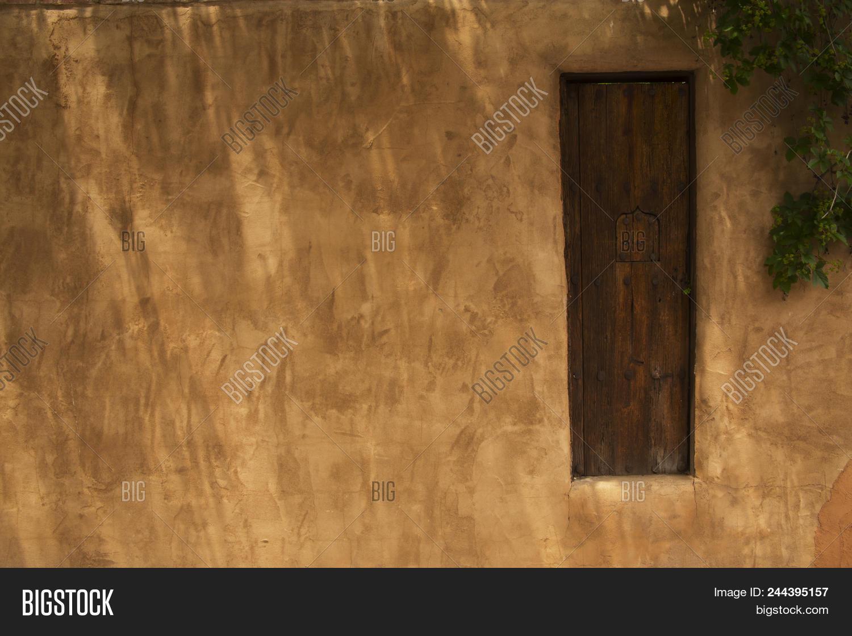 Wooden Gate Adobe Image Photo Free Trial Bigstock