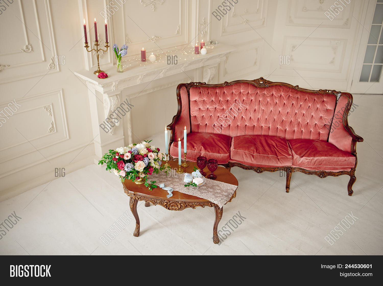 Sensational Baroque Style Interior Image Photo Free Trial Bigstock Gmtry Best Dining Table And Chair Ideas Images Gmtryco