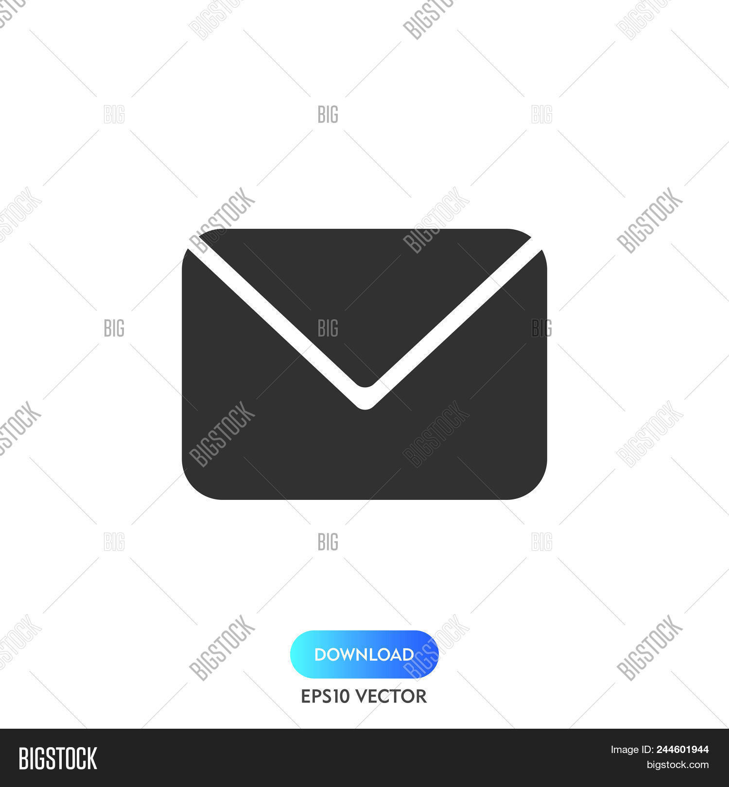 Email Icon Simple Vector Photo Free Trial Bigstock