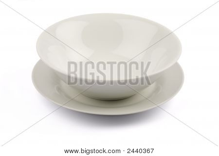 Bowl On Plate