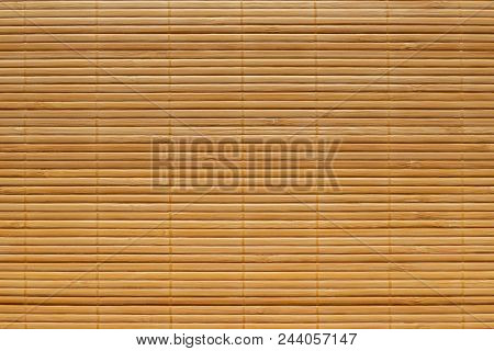 Bamboo Wooden Curtain Texture Pattern For Background