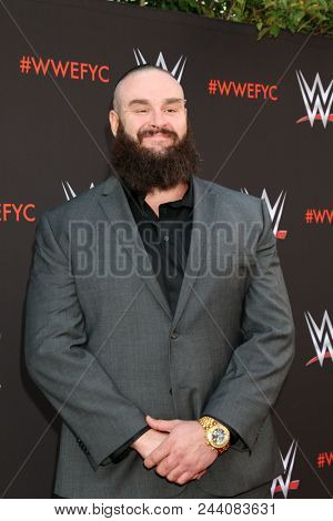 LOS ANGELES - JUN 6:   Braun Strowman at the WWE For Your Consideration Event at the TV Academy Saban Media Center on June 6, 2018 in North Hollywood, CA