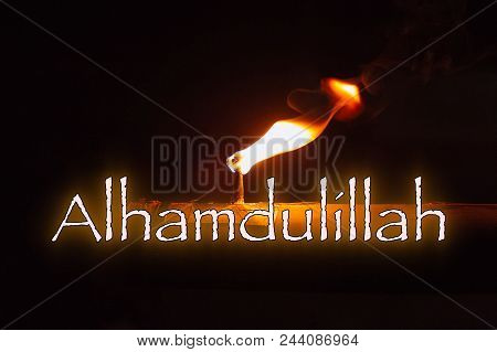 Alhamdulillah Word Image & Photo (Free Trial) | Bigstock