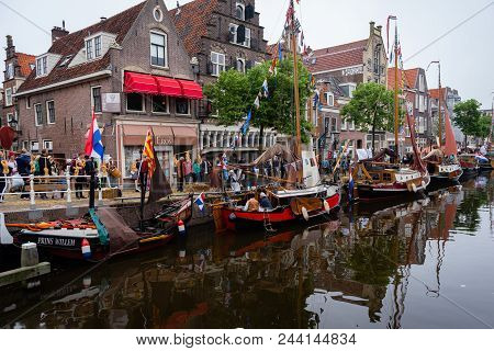 Alkmaar, Netherlands - June 02.2018, The Netherlands: Image Of The Famous And Traditional Dutch Chee