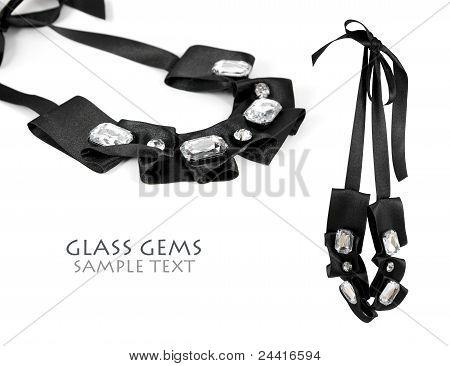 Glass Gem Necklace