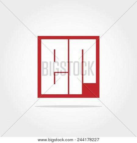 Initial Letter Er Logo Template Vector Design