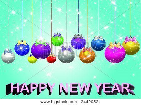 New Year (Christmas) ball