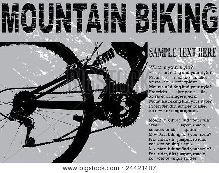 Mountain bikers card