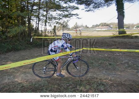 Teenage Girl Cyclist