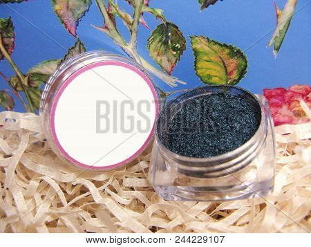 Macro Photo Eye Shadow Mineral Pigment Veil Powder Cosmetic Make Up