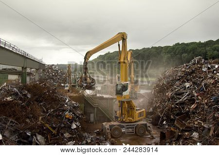 Enterprise For Collection And Recycling Of Scrap Metal