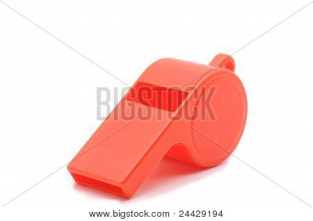 red whistle