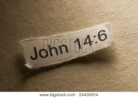 Verso de la Biblia