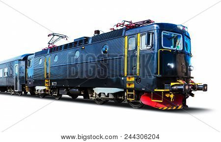 Creative Abstract Railroad Travel And Railway Tourism Transportation Industrial Concept: Modern High
