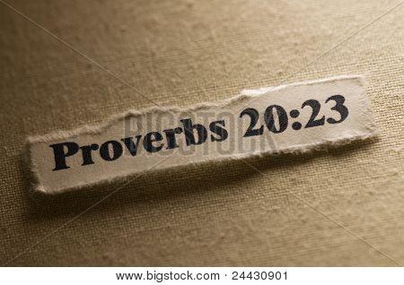 Vers aus der Bibel