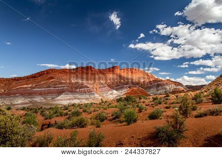 Magnificent Landscape Grand Staircase-escalante National Monument In Paria, Utah Usa.