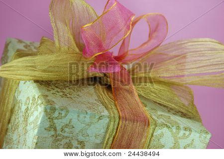 Pink and Gold Gift