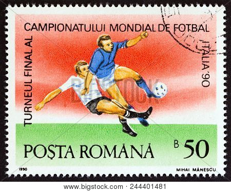 Romania - Circa 1990: A Stamp Printed In Romania From The