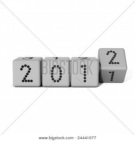 new year dice