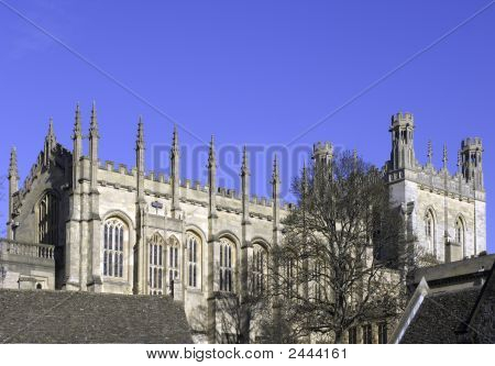 University Of Oxford, Christ Church Cathedral Steeple