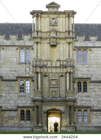 University Of Oxford, Merton College Gateway
