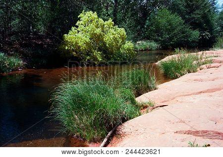 Oak Creek Country Mountains Surrounding Sedona Arizona