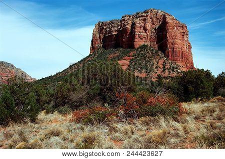 Red Rock Of Sedona Arizona In The Morning Light