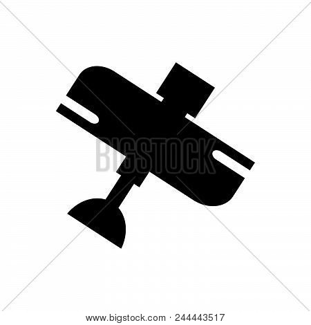 Airplane Vector Icon On White Background. Airplane Modern Icon For Graphic And Web Design. Airplane