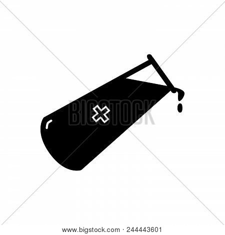 Chemical Element Vector Icon On White Background. Chemical Element Modern Icon For Graphic And Web D