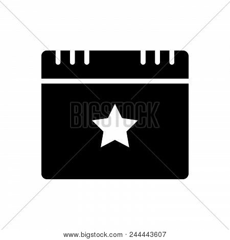 Star Event Vector Icon On White Background. Star Event Modern Icon For Graphic And Web Design. Star