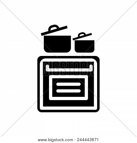 Cooking Vector Icon On White Background. Cooking Modern Icon For Graphic And Web Design. Cooking Ico