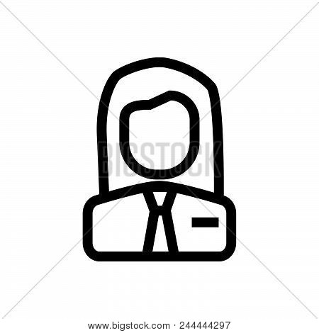 Employer Vector Icon On White Background. Employer Modern Icon For Graphic And Web Design. Employer