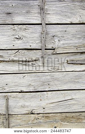 Old And Spoiled White Wood Background