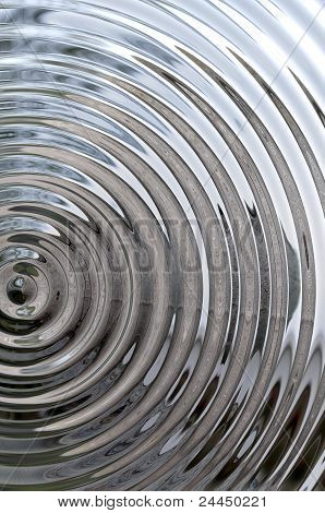 Circles on  background