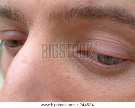 Peeking Eyes