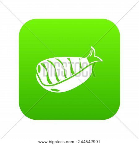 Sushi Lunch Icon. Simple Illustration Of Sushi Lunch Vector Icon For Web