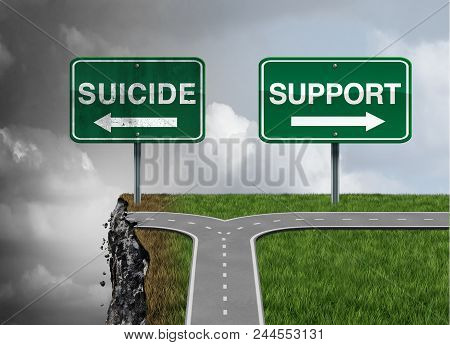 Suicide And Support Or Severe Depression Risk Of Hopelessness As A Mental Illness Therapy Health Con