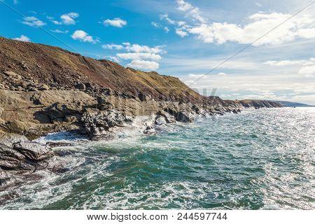 Ocean Shore (cabot Trail, Cape Breton, Nova Scotia, Canada)