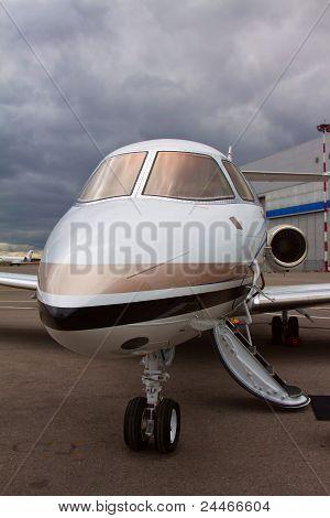 ladder in a private plane