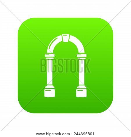 Archway Concrete Icon. Simple Illustration Of Archway Concrete Vector Icon For Web