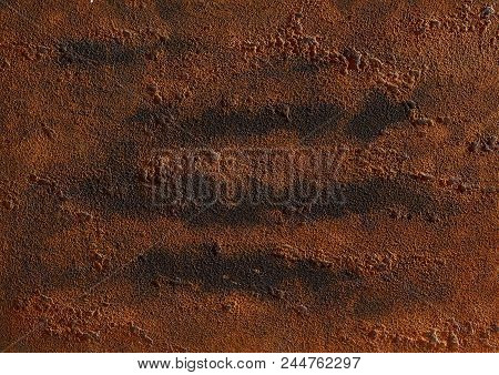 Highly Detailed Rough Grunge Texture Background With Vintage Texture And Space For Your Image, Text