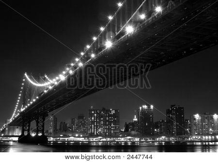Manhattan in der Nacht